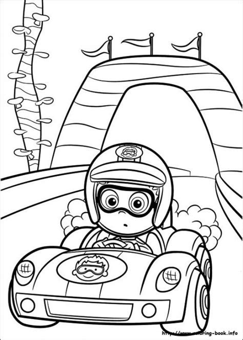 bubble guppies coloring pages nick jr nonny bubble guppies driving racing car coloring page