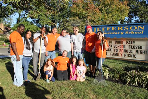 jefferson elementary thanks garwood home depot for time