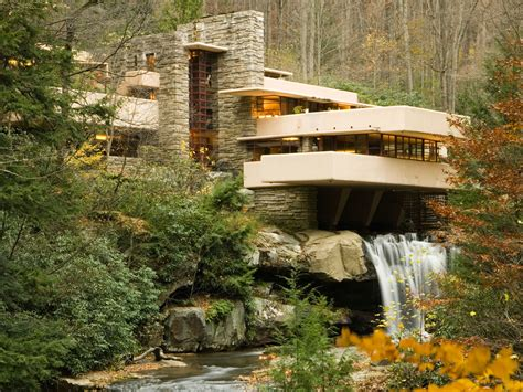 frank lloyd wright l flood causes damage at frank lloyd wright s fallingwater
