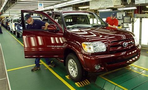 toyota plant in indiana toyota consider uk car recall after defective accelerators