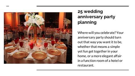 Wedding Anniversary Planning by Anniversary Planning