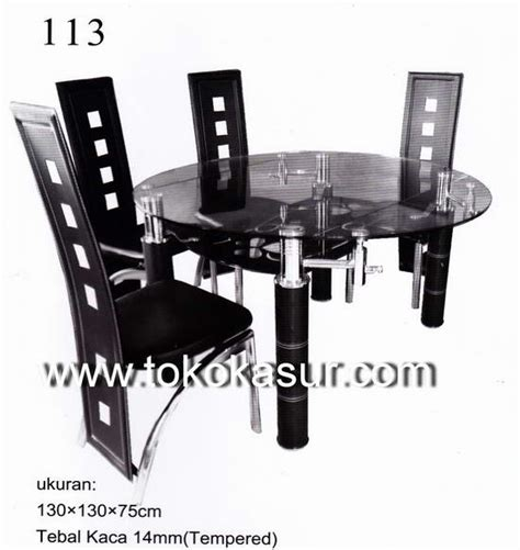 Gambar Dan Meja Makan Kaca meja makan kursi makan dining table meja makan minimalis