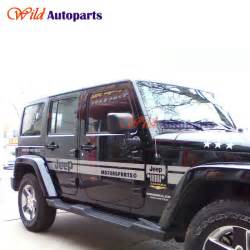 popular jeep wrangler decals buy cheap jeep wrangler