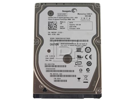 Hardisk Seaget 320gb seagate momentus 5400 5 st9320320as 320gb 5 4k sff 2 5