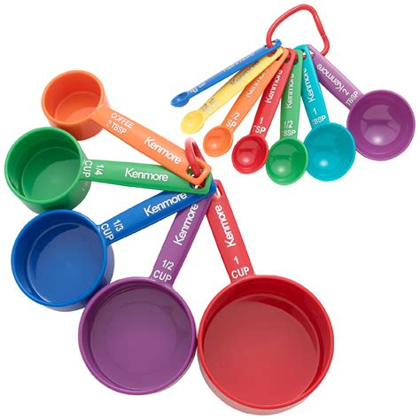 Pinterest Kitchen Storage Ideas by Kenmore 12 Piece Measuring Spoon Amp Cup Set Home