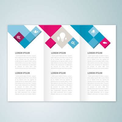 8 5x11 tri fold brochure template six panel tri fold brochure trifold design print