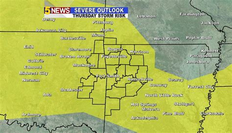 severe storms heavy rain possible thursday afternoon