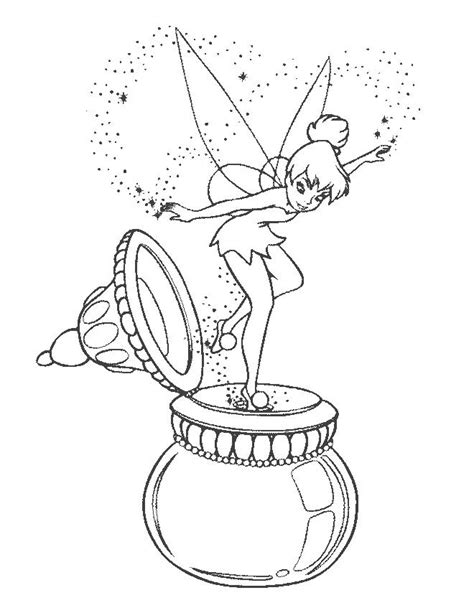 free coloring pages tinkerbell coloring pages printable