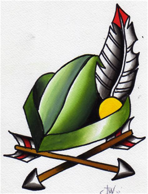 robin hood tattoo color robin by wilkamania on deviantart