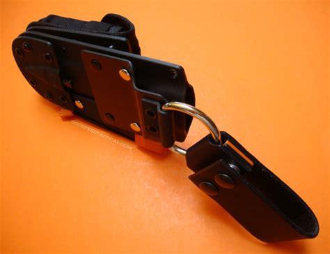 kydex sheath belt loop kydex dangler w leather belt loop godspeed tactical