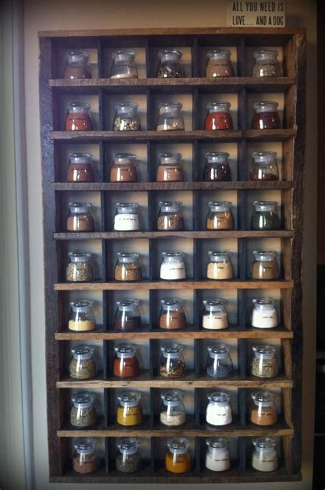 diy wooden wall spice rack 8 best wall mounted spice racks images on