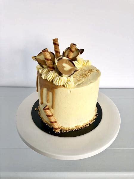 sassy coffee  walnut birthday cake anges de sucre
