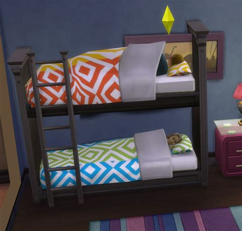 4 bunk beds mod the sims functional bunk bed fixed april 2015