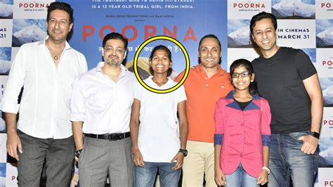everest film real life poorna trailer launch based on real story of 13 year old