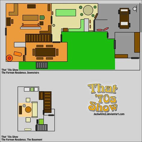 That 70s Show House Floor Plan | the forman residence floor plan that 70s show