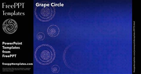 powerpoint layout größe ändern grape circle powerpoint templates