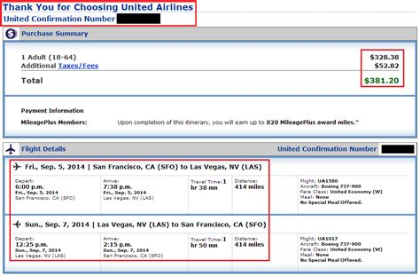 find your ticket number united airlines how to book airfare with us bank flexperks