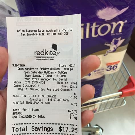 quilton  roll pack   roll  coles ozbargain