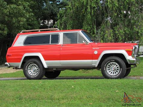 1979 jeep cherokee chief rare classic 1979 jeep cherokee chief s model