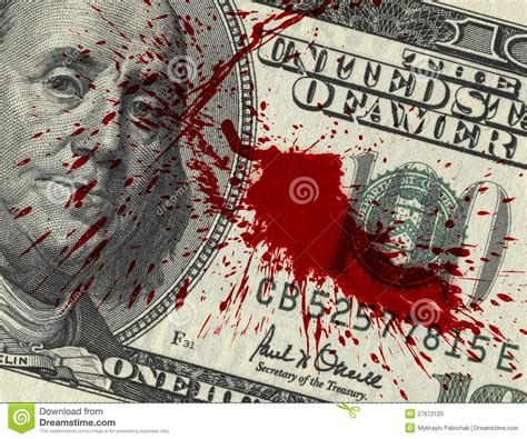 blood money stock image image of flow blood banking