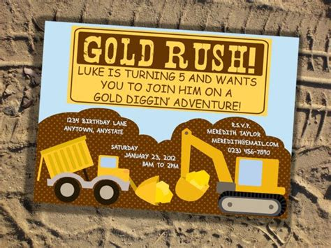 gold mining themes 17 best images about benalli 5th birthday on pinterest