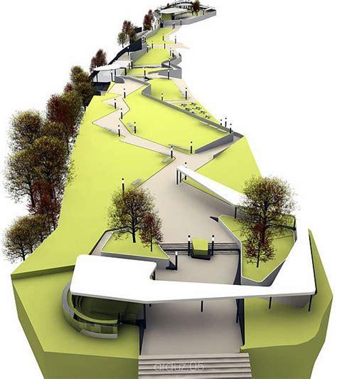 layout view model laikacota metropolitan park design concept 01 by mauone