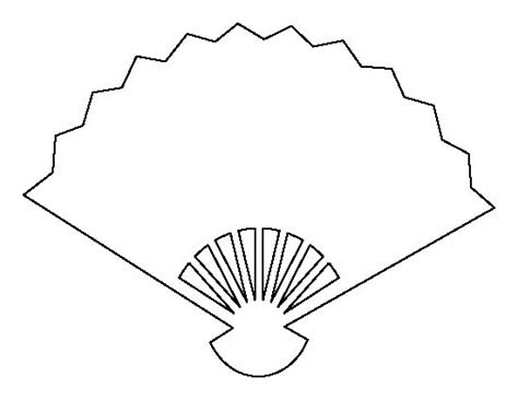 Fan Outline by The World S Catalog Of Ideas