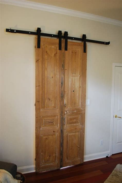 Small Barn Door Hardware Door Sliding Barn Door Hardware By Nwartisanhardware 320 00 The Home Mi Casa