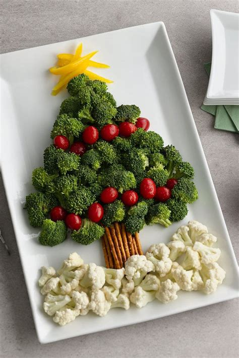 12 ideas to make christmas trees that you can eat