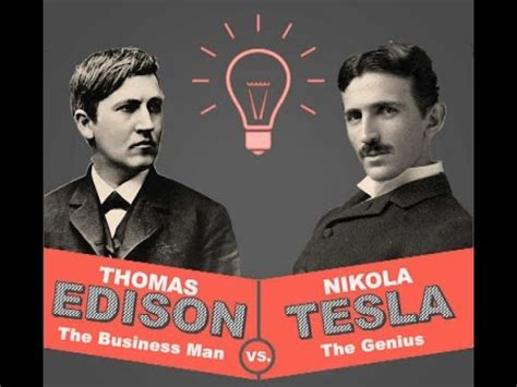 Nikola Tesla Edison Nikola Tesla Vs Edison War Of The Currents