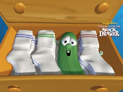 Veggie Tales Lesson From The Sock Drawer by Sky Store Msitesockdrawervtales