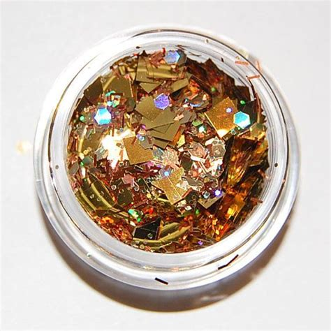 mix copper and gold gold and copper sparkle mix solvent resistant glitter mix