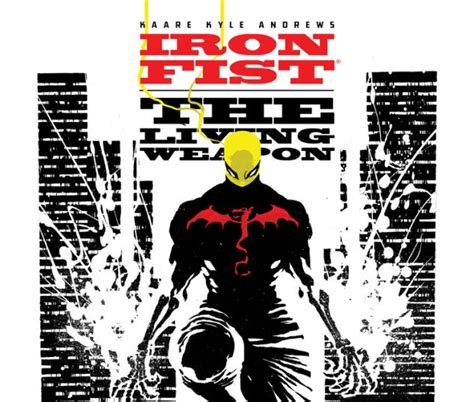 libro iron fist the living iron fist the living weapon 2014 4 comics marvel com