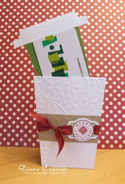 starbucks gift card template 12 unique ways to give gift cards smart diy