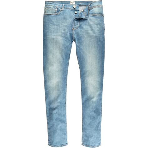 light wash jeans mens light blue wash sid skinny stretch jeans jeans sale men