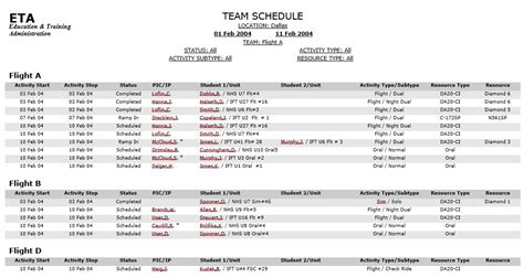 Team Snack Schedule Template Here Is Download Link For This Sports Schedule Template 8 Team Calendar Template