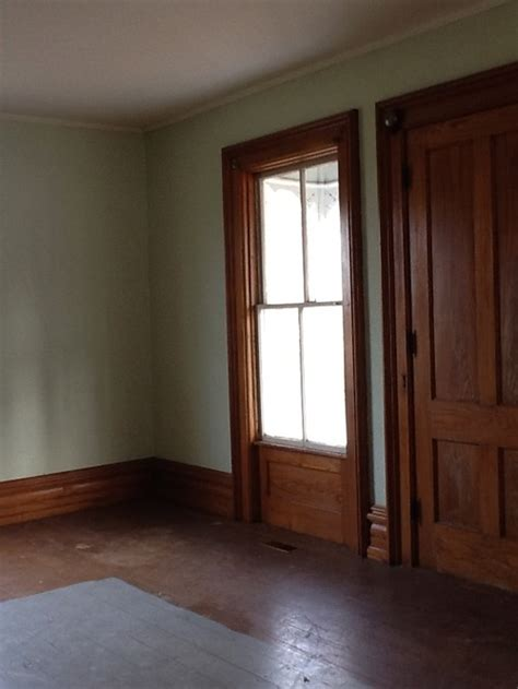 need paint color to compliment chestnut wood trim