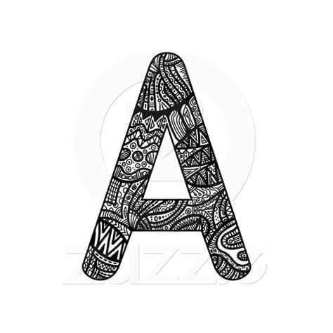 doodle letter 1000 images about zentangle letters on