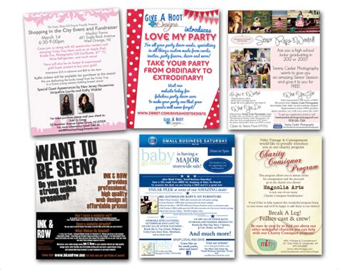 marketing flyer templates advertising flyer template 16 in vector eps psd