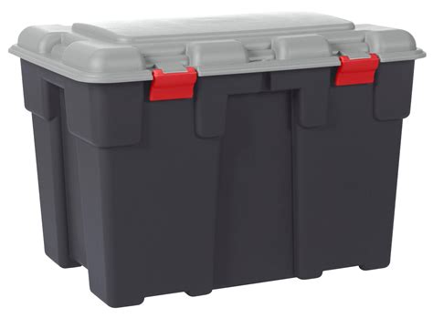 allibert explorer extra large storage trunk  litre