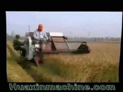 Pemotong Padi Zaaga Alat Pertanian Mesin Pemotong Dan Pemanen Padi Modern