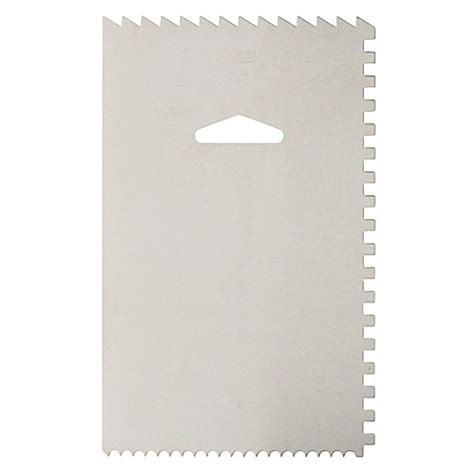 Decorating Comb Smoother ateco 174 decorating comb and icing smoother bed bath beyond