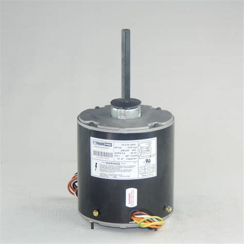condenser fan blade home depot tradepro replacement condenser fan motor 3 4 hp single