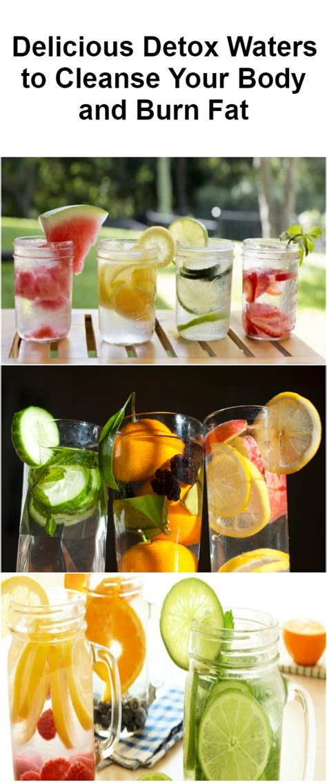 Delicious Detox by 10 Delicious Detox Water To Cleanse Your And Burn