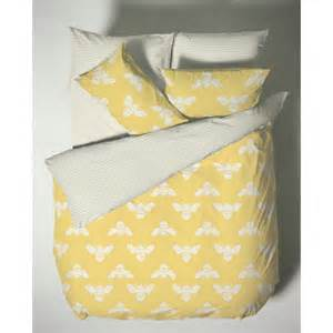 Duvet Thread Count Bumblebee Yellow 200 Thread Count Cotton Duvet Cover