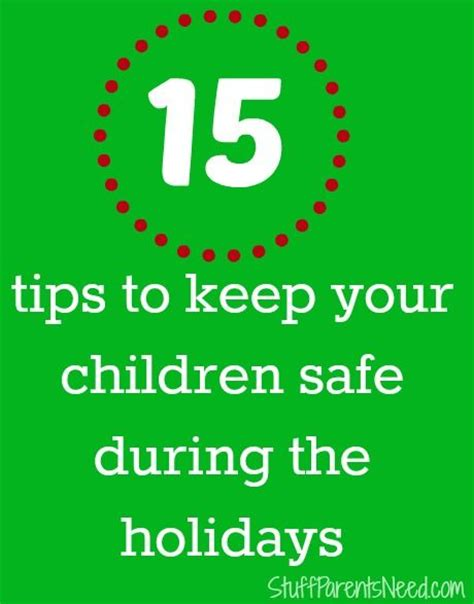 9 Practical Ways To Keep Your Safe Safety Tips Children And Tips On