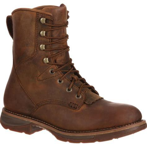boot boot workin rebel by durango waterproof western lacer boot