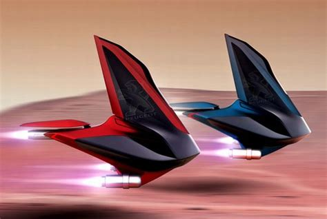 Coolest Lamborghini by Peugeot Voilier Is A Concept Vehicle For Mars Around 2080