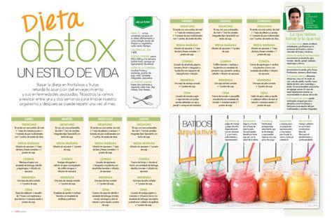 Dieta Detox 3 Dias Menu by N 250 Mero De Revista Cocina Dietas Grupo V