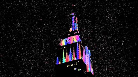 build a new year empire state building new york nye 2013
